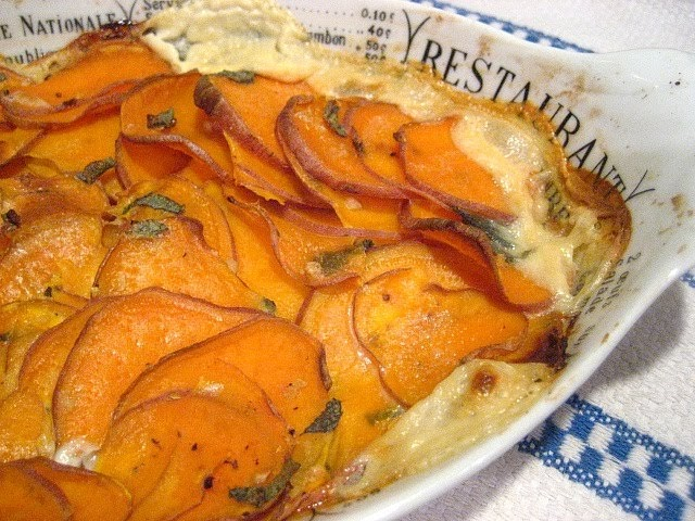 Stacey Snacks: Ottolenghi Sweet Potato Gratin
