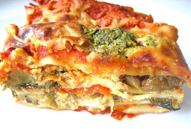 Stacey Snacks: Roasted Vegetable Lasagne