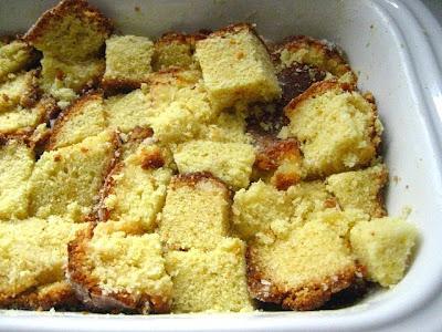 Stale Pound Cake Bread Pudding