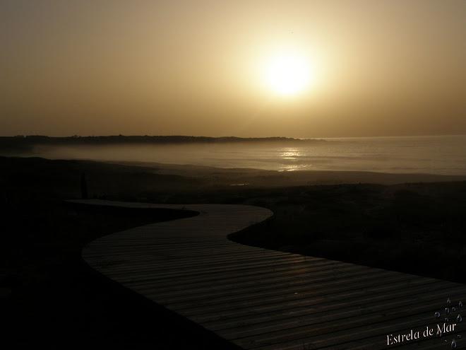 La niebla a llegado esta tarde,el mar nos la acerca...