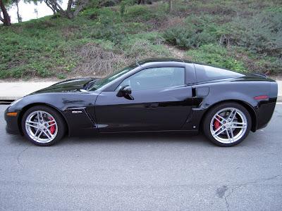 Chevy Corvette Z06 Black. 2006 Chevrolet Corvette Z06