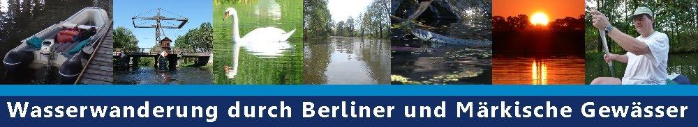 Tourentipps zum Wasserwandern auf Berlin und Brandenburg Märkische Gewässer