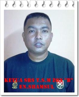 Ketua SRS T.S.M Zon B