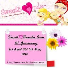 SweetBonda.Com 1st Giveaway