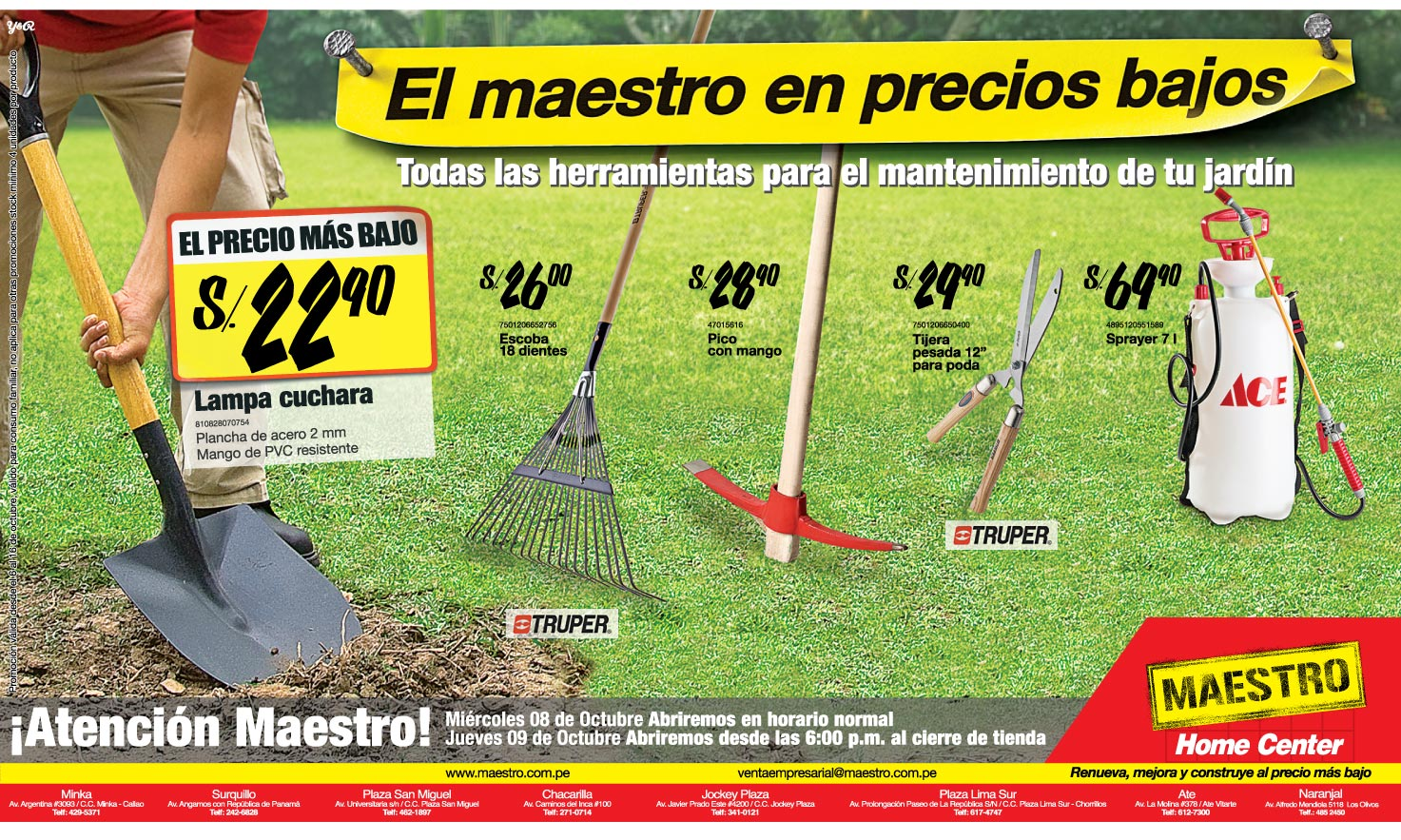 Eufrateadas aviso herramientas de jardiner a - Herramientas de jardineria 94 ...