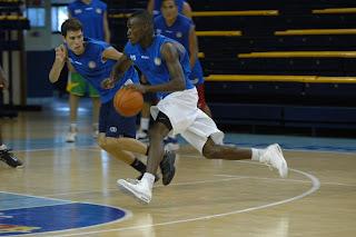 Un momento de la primera jornada de la III Gran Canaria Summer League