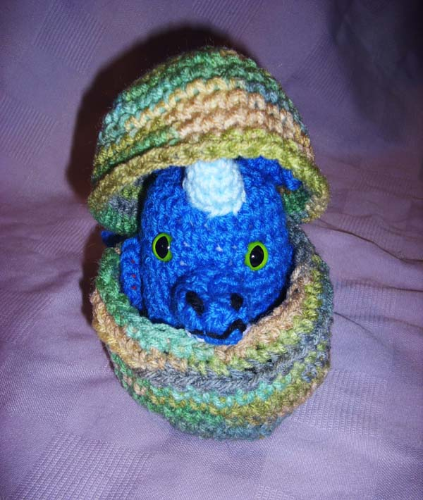 The Amigurumi Girl: My Baby Dragon Amigurumi