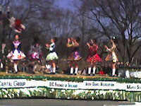 Every Irish Celtic dance school on the eastern seaboard was featured.