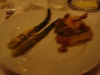 I Ricchi: Asparagus and Garlic Bread