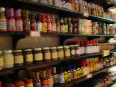Hot sauce! Get your hot sauce!