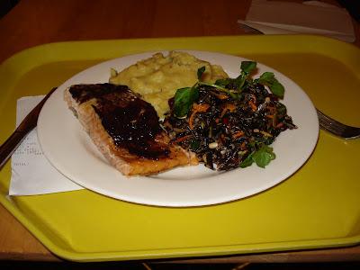 Mitsitam Salmon for lunch