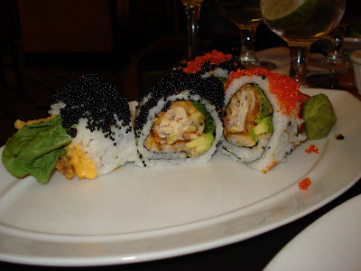 Spider roll at Flying Fish