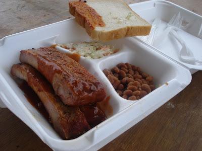 Texas ribs Folklife Festival