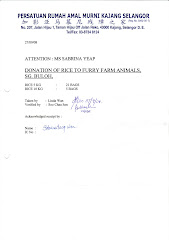 Our Donation to Furry Farm Animals (Sabrina Yeap)