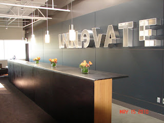 McKinstry Innovation Center third floor entrance