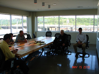 Hydrovolts meeting with Markey Machinery at the McKinstry Innovation Center