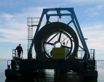 Clean Currents turbine