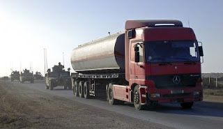 Fuel tankers are a prime war zone target
