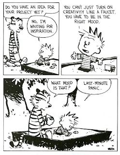 Calvin & Hobbes on creativity