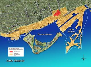Waterfront Revitalization Area of Toronto, Canada