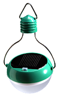 Nokero N200 solar-powered light bulb