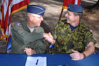 US & canada agree to use each other's troops
