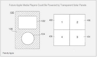 apple files patent for solar-powered ipods