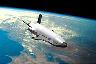air force space plane: military launching robotic space vehicle