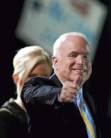 mccain guarantees victory