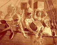 the masonic boston tea party