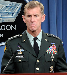 mcchrystal's burning contempt for the puppet obama