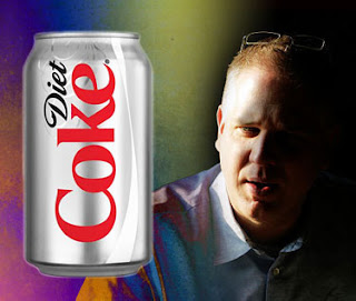 warning to glenn beck: don't drink diet coke