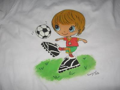 T-shirt futebol