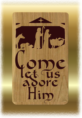 Free Scroll Saw Patterns by Arpop: Christmas Plaque