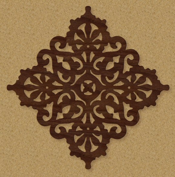 Free Scroll Saw Patterns by Arpop: Victorian Trivet Pattern