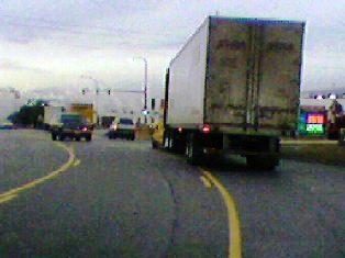 big rig traffic