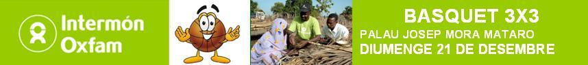 Bàsquet 3x3 Intermón-Oxfam