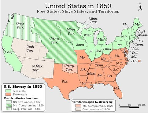 The AfricanNative American Genealogy Blog Monday Madness When - Us indian territory 1800s map