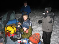 Winter Camping in Anchorage, Alaska