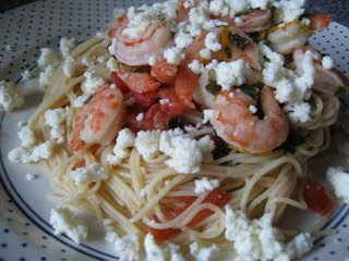 Garden Shrimp Pasta
