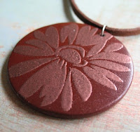 Echinacea Pendant from Miss Ficklemedia