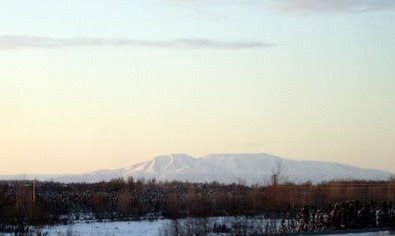 Mount Susitna from Anchorage, Alaska