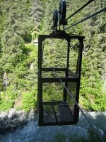 Hand Tram at Winner Creek