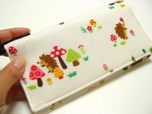 Blissful Handbags Checkbook Cover