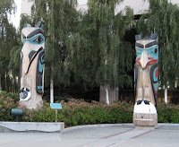 Totems in Anchorage, Alaska