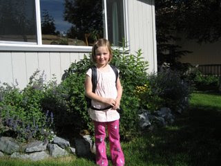 Lillian's First Day of School