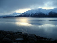Cook Inlet near Anchorage, Alaska