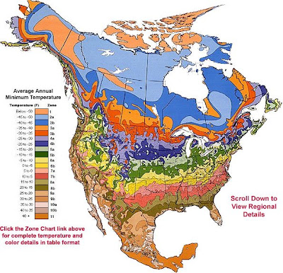 USDA Zone Hardiness