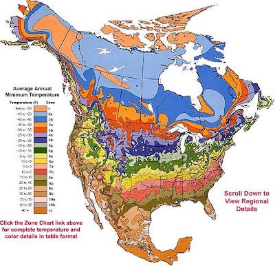 USDA Zone Hardiness