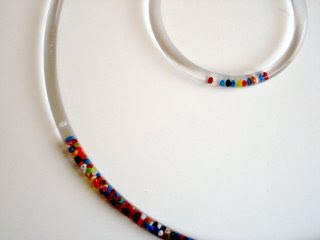 Beaded Plastic Bracelets